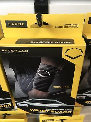 Evo-shield Wrist Guard Large Black