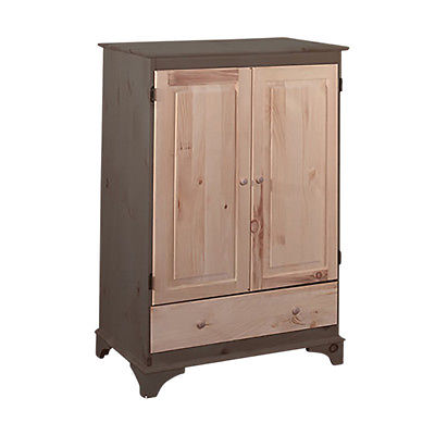 Video Cabinet Unfinished Pine Hadley Cabinet | Renovator's Supply