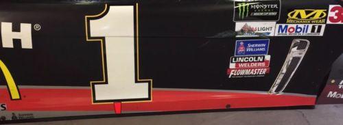 2017 Jamie Mcmurray Gearwrench NASCAR Race Used Sheet Metal