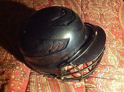 Rawlings  Batter's Helmet, one size fits 6 1/2 - 7 1/2, black, youth helmet