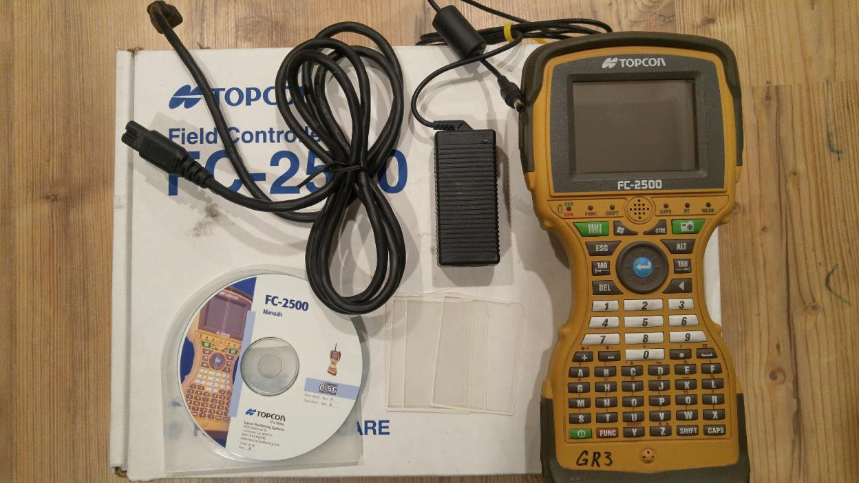 Topcon FC-2500 Data Collector Field Controller with TOPSURV 8.1