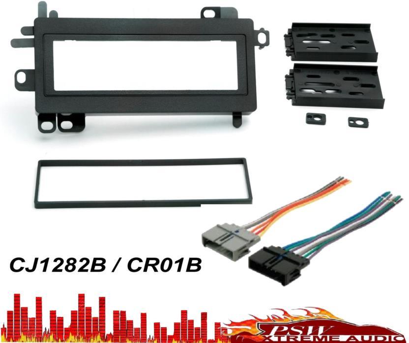 CJ1282B, CR01B Dash Installation Kit And Wiring Harness Adapter JEEP 1997 > 2001