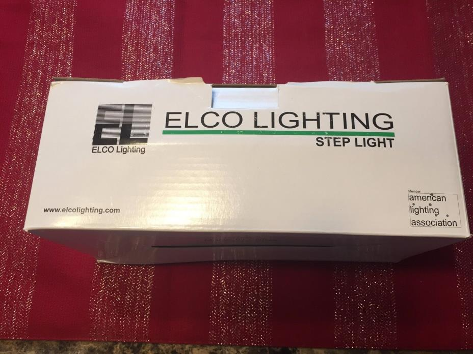 Elco Lighting ELST81BZ Step Light Bronze