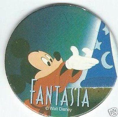 Mickey Mouse Fantasia Pog #2 Disney