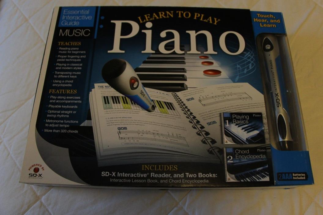 Learn to Play the Piano SD-X Interactive Reader 2 Books