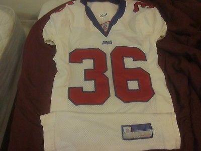 2003 NFL Football New York Giants Game Used Jersey #36 Shaun Williams
