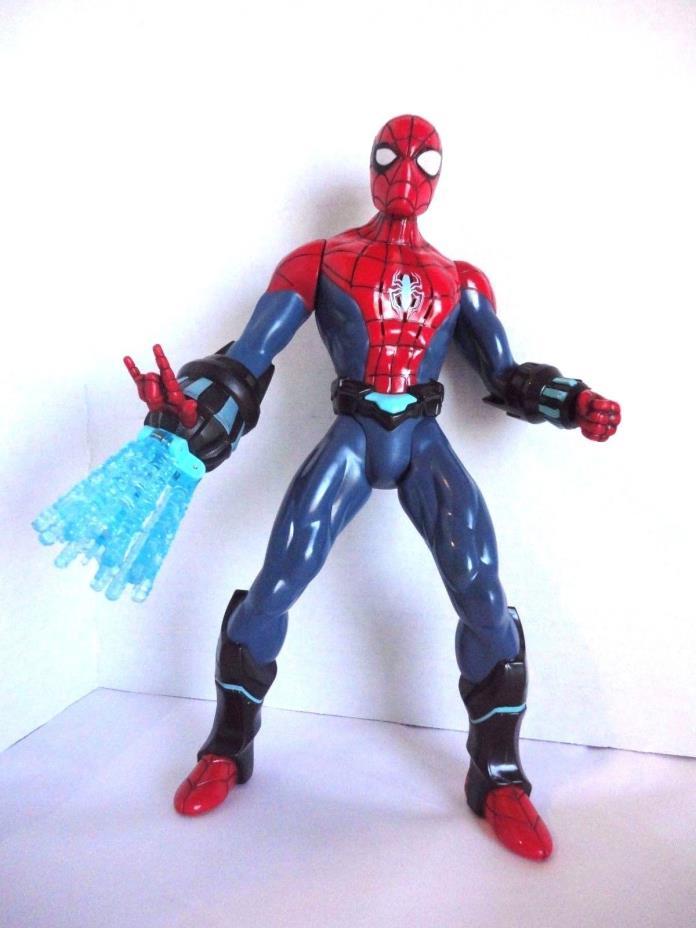 Marvel Ultimate Spider Man Electro-Web Lights Spinning Web Talks 10