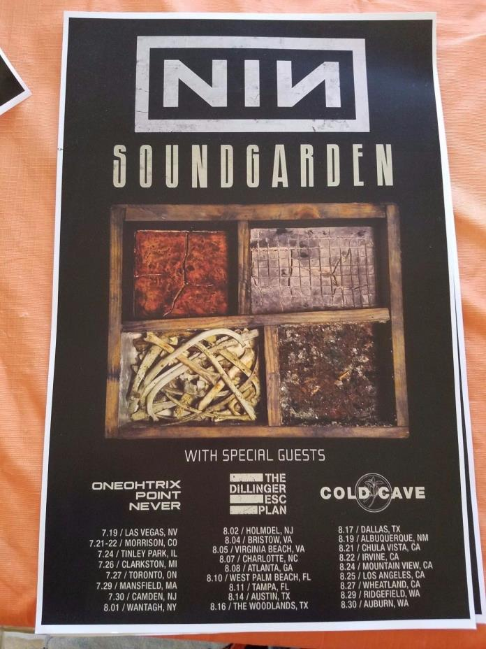 Nine Inch Nails Posters - For Sale Classifieds