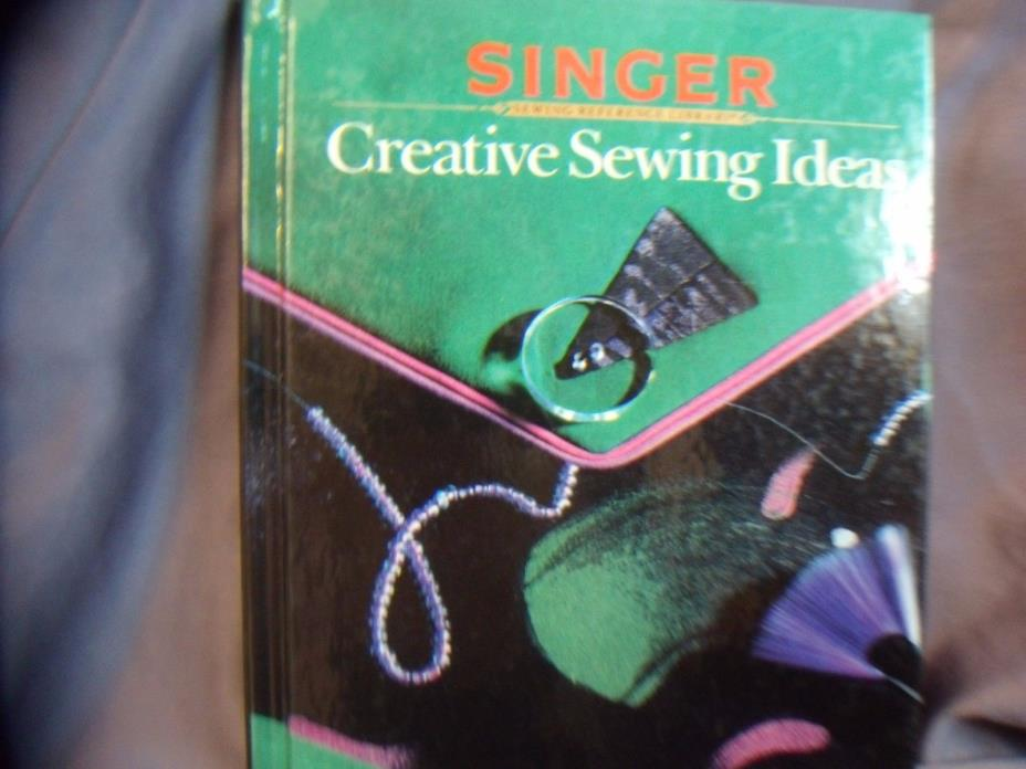 SINGER  CREATIVE SEWING IDEAS   REFERENCE LIBRARY