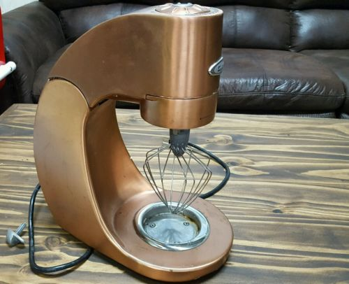 JENN AIR ATTREZZI COPPER  Stand Mixer AS IS. Lock broke off- Works