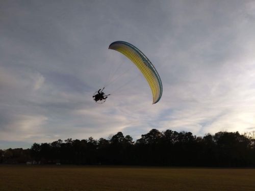 Paraglider, Paramotor, PPG, Macpara Blaze GT 23M Green (90 hours)