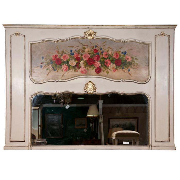 French Trumeau Mirror 102-6242