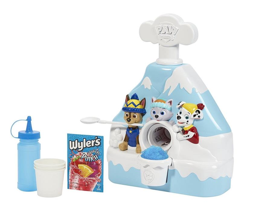 Little Kids Paw Patrol Snow Cone Maker Plastic Imported Brand NEW FREE SHIPPING