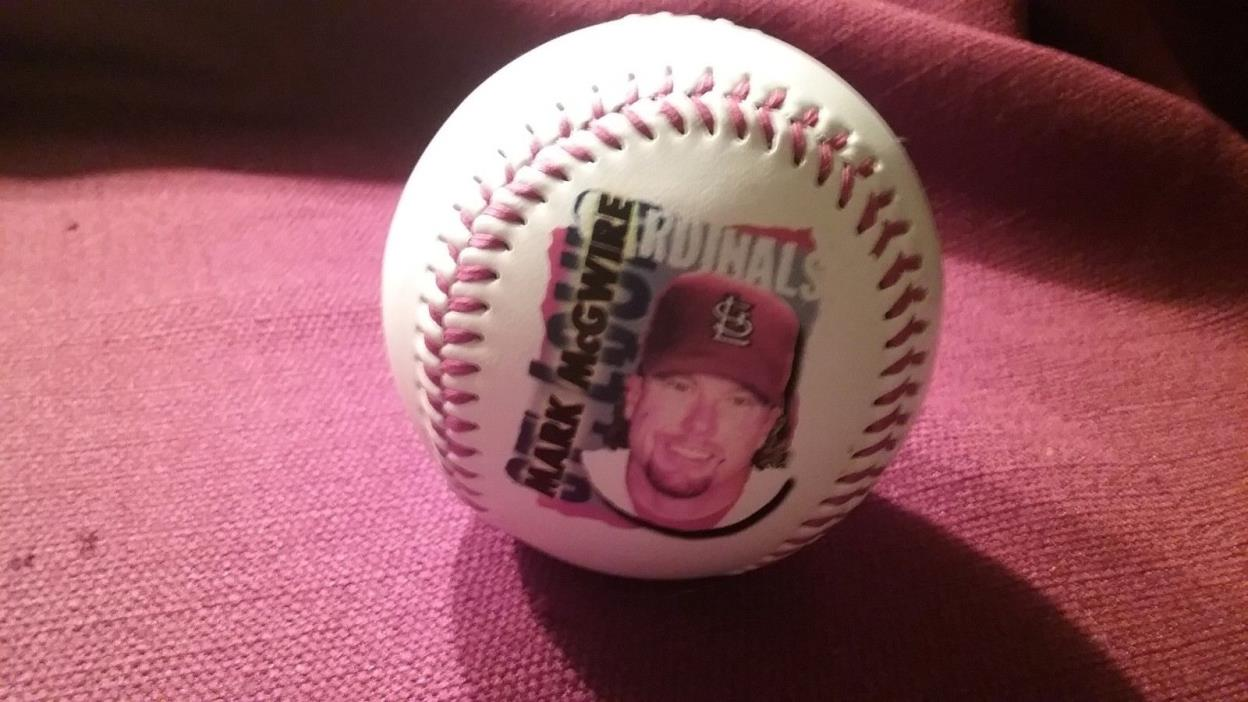 1998 MARK McGWIRE CHEX CEREAL  PHOTO BALL Baseball - ST. LOUIS Cardinals