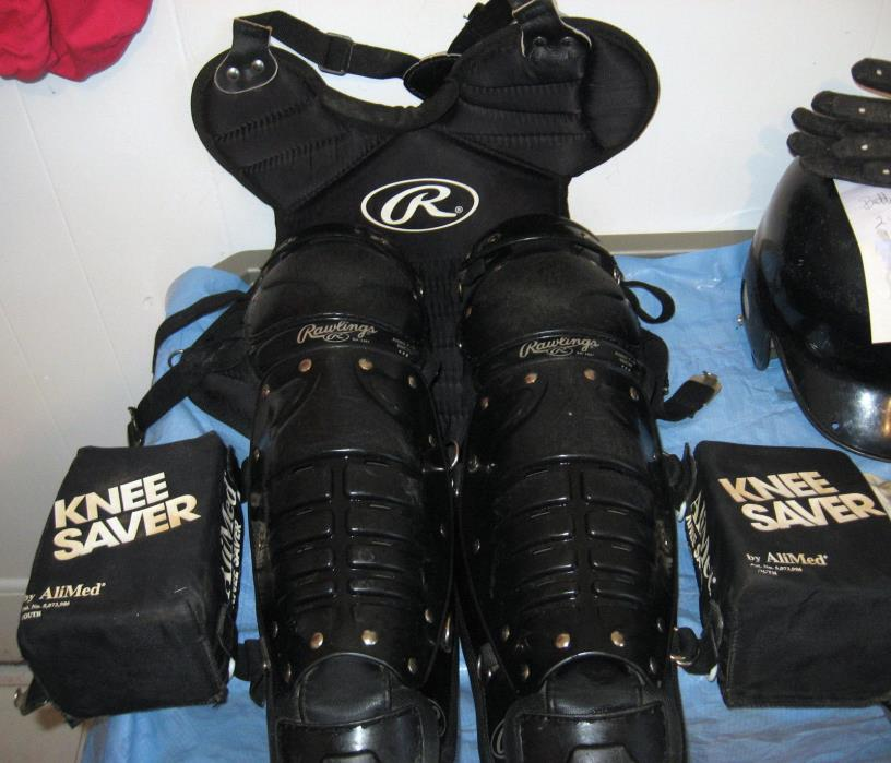 RAWLINGS CATCHER'S GEAR SET  Baseball or Softball Sport Gear For Youth