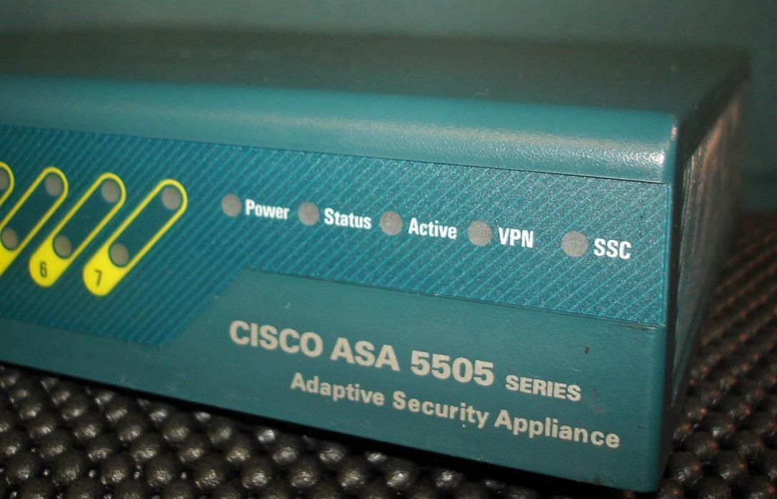 Cisco ASA 5505 Series Adaptive Security Appliance ASA5505 V05