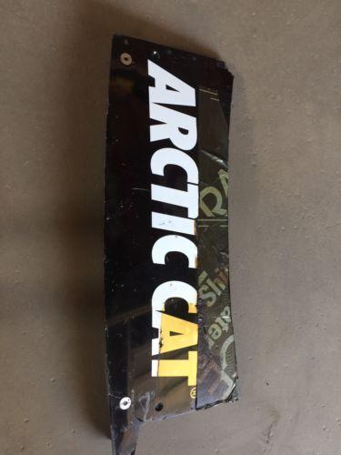 Tony Stewart 2016 Arctic Cat Decklid NASCAR Race Used Sheet Metal
