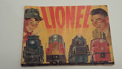 Lionel 1954 MINI Train Catalog 32 Pages - approx 8