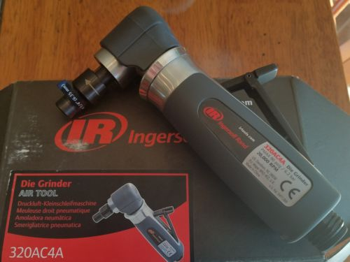 INGERSOLL-RAND 320AC4A Air Die Grndr, Rt Ang, 20krpm, 0.4 HP, 32cfm