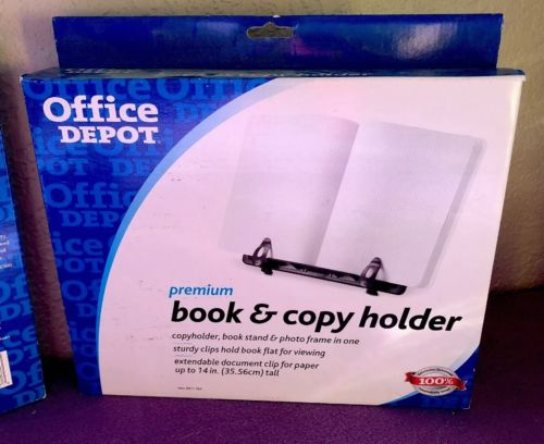 Office Depot Book And Copy Holder, Black, A0811A