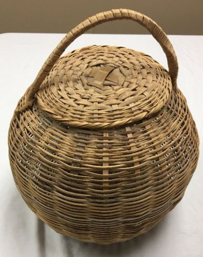 Round basket cover With handle 12