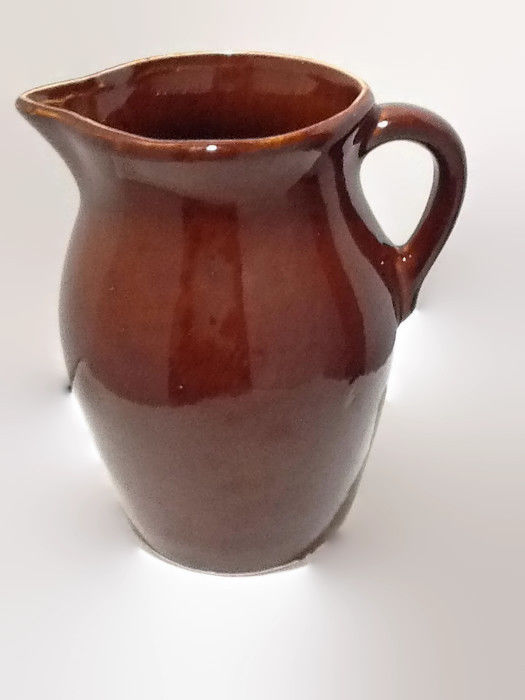 Robinson Ransbottom Pottery Roseville, Ohio USA Brown Pitcher
