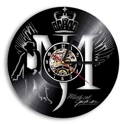 King Of Pop Michael Jackson Vinyl Record Wall Clock