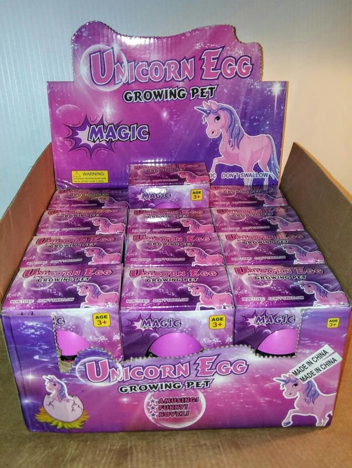 Wholesale Unicorn Hatching Egg - 15 pc cardboard display