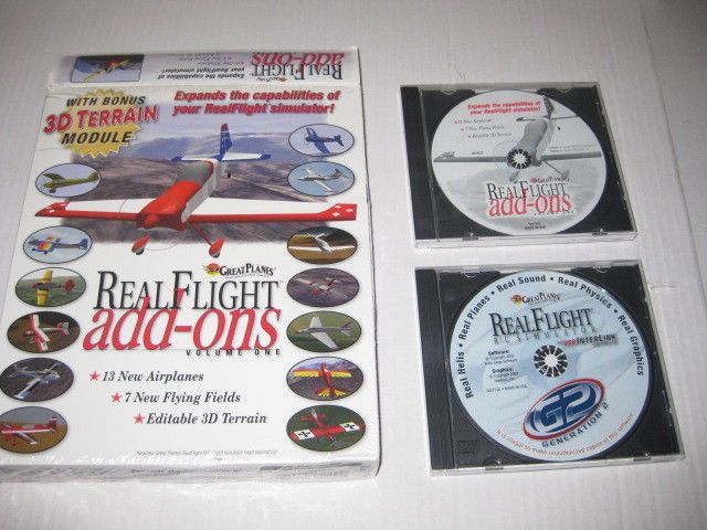Real Flight R/C Simulator Generation 2 G2 & add-ons Volume one 1 , used, pre-own