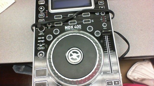Numark NDX400 DJ Turntable controller MP3 USB CD Player
