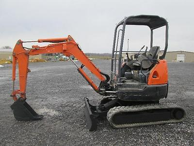 Hitachi ZX27U-NA Mini Excavator Farm Tractor Dozer