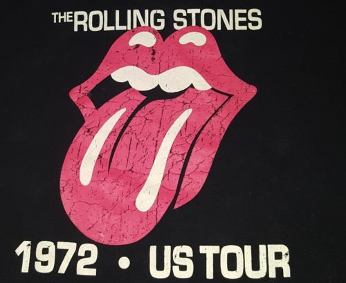 the Rolling Stones t-shirt rock and roll extra large for Men original