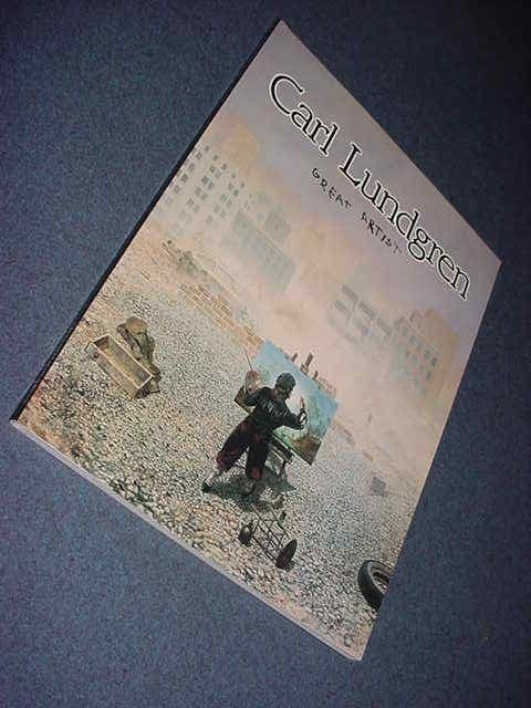 1993 Carl Lundgren Great Artist - First Edition SIGNED & LOW Numbered Soft Cover