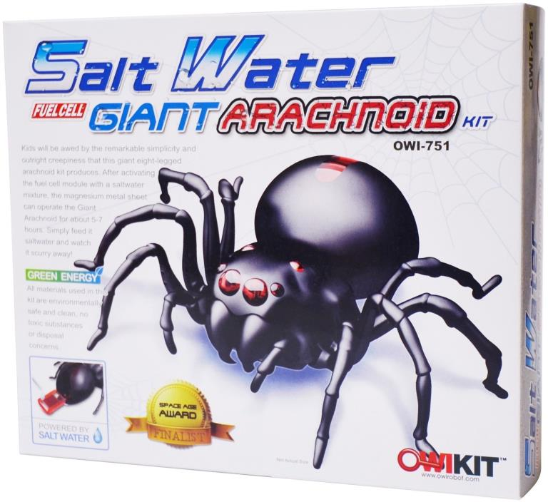 OWI Salt Water Fuel Cell Giant Arachnoid Kit OWI-751
