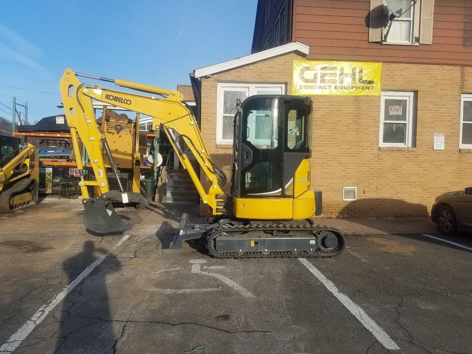 Excavator Kobelco SK35SRX. 0% Financing