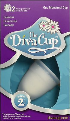 Diva Wash Model 2 Menstrual Cup 1 ea (Pack of 8)