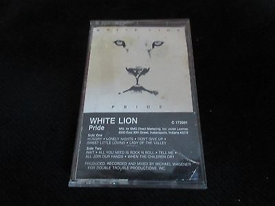 Vintage Cassette White Lion Wait Check Out Our Many Other Tapes