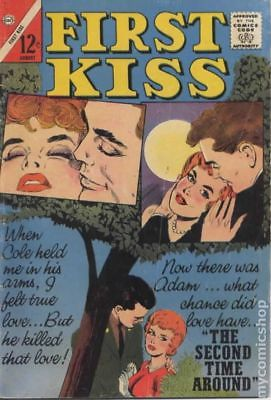 First Kiss #33 1963 VG/FN 5.0 Stock Image Low Grade