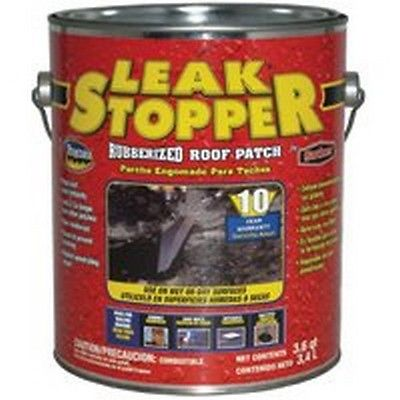 LEAK STOPPER Roof Patch 3.6 Quarts by Gardner-Gibson 0311-GA BLACK