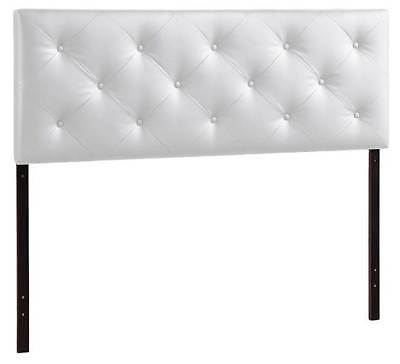 Baltimore Upholstered Headboard in White [ID 3402341]