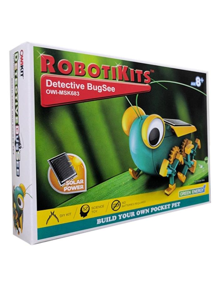 OWI RobotiKits Build Your Own Pocket Pet Solar Detective BugSee OWI-MSK683