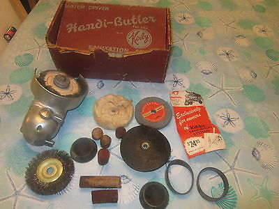 Vintage Kirby Handi Butler Sanitation System with Accessories in Oringinal Box