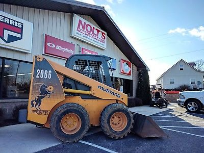 2000 MUSTANG 2066 SKID STEER LOADER 62 HP CUMMINS ENGINE 4260 HOURS HYDRAULICS