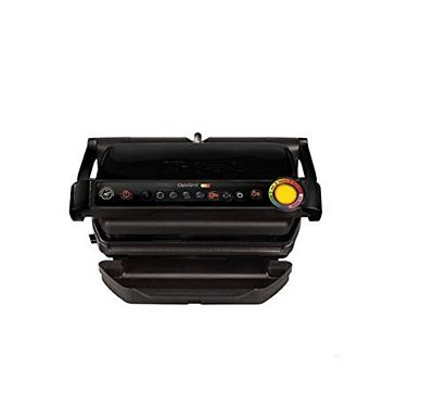 T-fal GC702853 OptiGrill Indoor Electric Grill with Removable and Dishwasher Bar