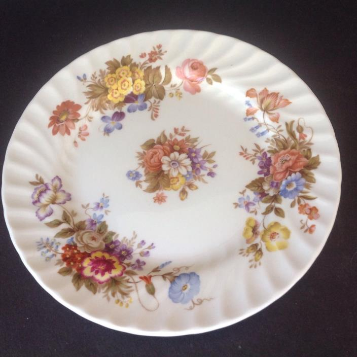 AYNSLEY BONE CHINA SUMMERTIME PATTERN SIDE PLATE 6.25