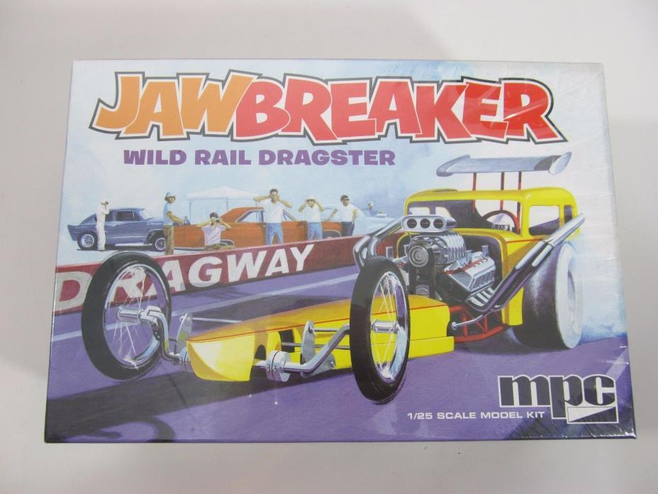 MPC/AMT/ERTL JAWBREAKER Wild Rail Dragster Model Car Kit NEW 1/25 scale 821/12