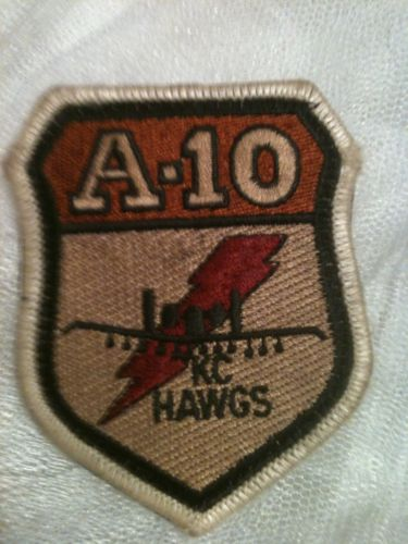 A-10 Warthog Thunderbolt II Fighter Pilot Patch Air Force