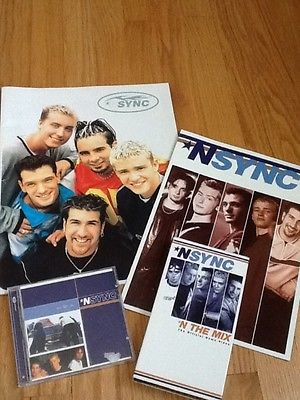 'N Sync Concert Programs VHS and CD