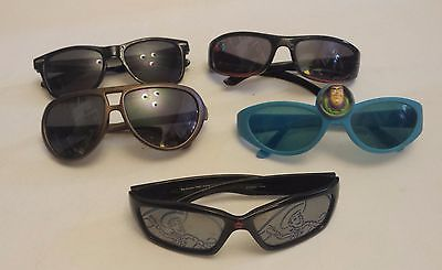 Lot of 5 Used Boys Sunglasses