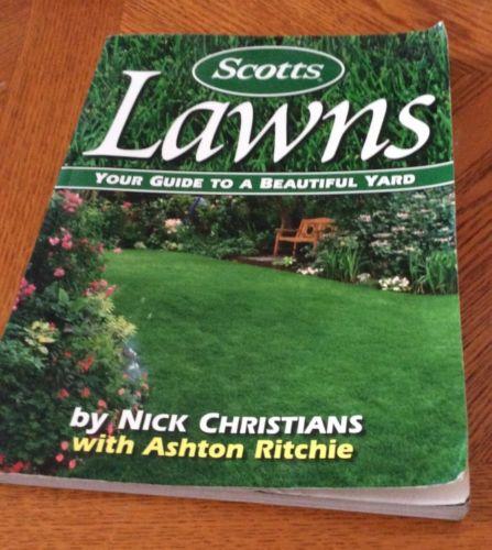 Scotts Lawns, Illustrated, Paperback,2002